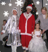 Snow Princess and Santa Claus (Christmas)