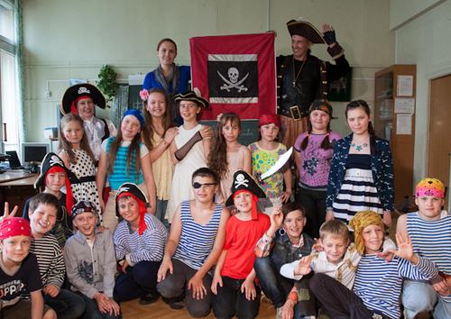 Сценарий детского пиратского